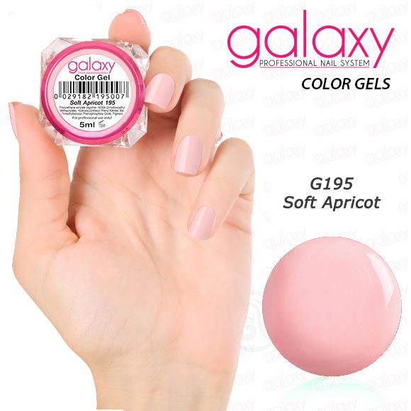 G195 GALAXY Color Gel Soft Apricot